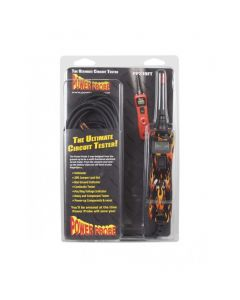 Power Probe 3 Digital Auto Electrical Tester 12-24 volt PP3CSFIRE Flame Print Design