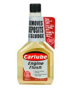Carlube Engine Flush Oil Flushing additive Removes Deposits & Sludge 300ml QPF300