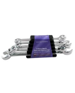 Britool Hallmark 5 Piece Metric Flare Nut Wrench Set REFMSET5