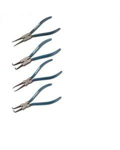Signet 4 Piece Internal & External Circlip Pliers Set S909SET