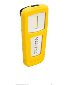Scangrip Lighting Miniform 1.3W COB LED Rechargeable Handlamp in Yellow 03.5473UK