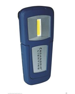 Scangrip Lighting Miniform 1.3W COB LED Rechargeable Hand Lamp in Blue 03.5036UK