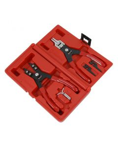 Trident 2 Piece Internal & External Circlip Pliers Set in a Blow Moulded Case T244300