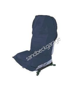 Trident Mechanics Seat Cover Universal Fit Airbag Tested in Blue T652302