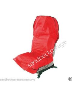 Trident  Mechanics Seat Cover Universal Fit Airbag Tested in Red T652303