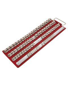 """Trident Socket Rail Rack 1/4""""dr,3/8""""dr & 1/2""""dr T712100"""