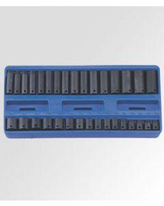 "Genius 32 Piece 3/8"" Dr. Metric Impact Socket Set TF-332M"