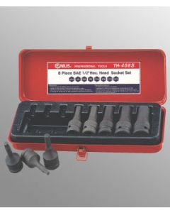 "Genius 8 Piece 1/2""drive Metric Impact Hex Driver Set TH-408M"