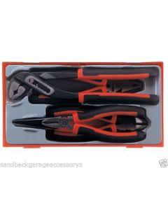 Teng Tools 4 Piece Mega Bite Plier Set TT440