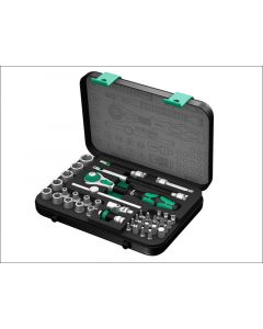Wera Zyklop SA2 Socket Set of 42 Metric 1/4in Drive WER003533