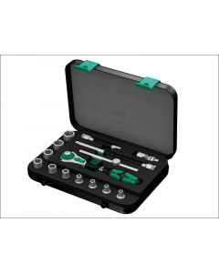 Wera Zyklop Socket Set of 15 Imperial 1/4in Drive WER003534