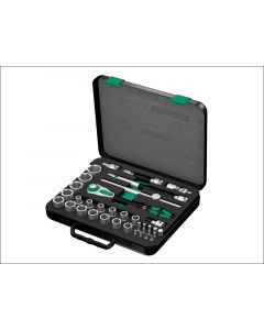 Wera Zyklop Socket Set of 37 Metric 1/2in Drive WER003645