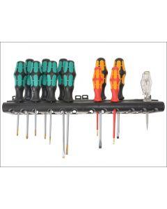 Wera Kraftform Plus XXL Artisan Screwdriver Set of 12 SL / PH / PZ WER051010