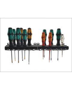 Wera Kraftform Plus XXL Artisan Screwdriver Set of 12 SL / PH / PZ / TX WER051011
