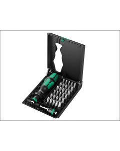 Wera Kraftform Kompakt 70 All Round Screwdriver Bit Set of 32 WER057110