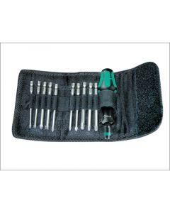 Wera Kompakt 41 Screwdriver Bit Holding Kit of 11 Pouch WER059299