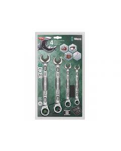 Wera Joker Combi Ratchet Spanner Set of 4 Metric WER073290