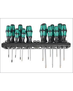 Wera Kraftform Bigpack 300 Screwdriver Set of 14 SL / PH / PZ / TX WER105630