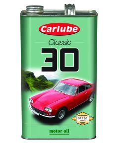 Carlube Classic SAE30 Classic Oil 4.55 Litre Classic Car Engine Oil XAE030