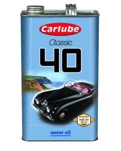 Carlube Classic SAE40 Classic Oil 4.55 Litre Classic Car Engine Oil XAE040