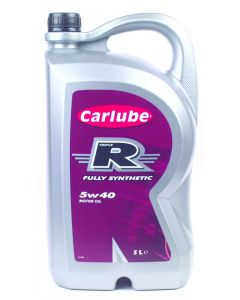 Carlube Triple R 5W-40 Fully Synthetic 5 Litre Engine Oil XGF050