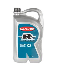Carlube Triple R 5w30 Fully Synthetic Longlife C3 Low Saps 5 Litre Engine Oil XNT050
