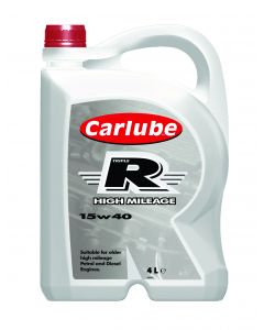 Carlube Triple R 15W40 Semi-Synthetic High Mileage 4 Litre Engine Oil XRH004