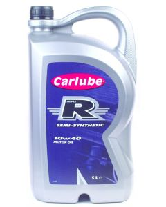 Carlube Triple R 10W40 Semi-Synthetic 5 Litre Engine Oil XSY050
