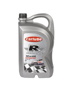 Carlube Triple R 10W-60 Fully Synthetic Racing Oil 5 Litre Engine Oil XTC050