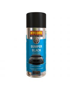 Hycote Black Bumper Paint Trade Pack 400ml Aerosol x 12 XUK230