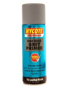 Hycote Bodyshop Hi-Build Grey Primer Trade Pack 400ml Aerosol x 12 XUK423