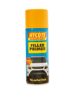 Hycote Yellow Primer Filler Trade Pack 400ml Aerosol x 12 XUK602