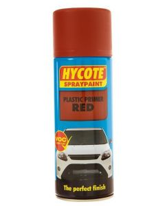 Hycote Red Plastic Primer Trade Pack 400ml Aerosol x 12 XUK611