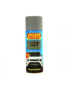 Hycote Grey Plastic Primer Trade Pack 400ml Aerosol x 12 XUK612