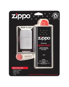 Zippo Windproof Lighter All In One Kit  Z28492